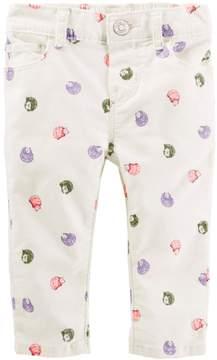 Osh Kosh Baby Girl Hedgehog Corduroy Pants
