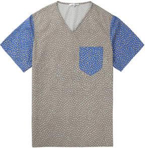 Carven Grey printed Poplin T-Shirt