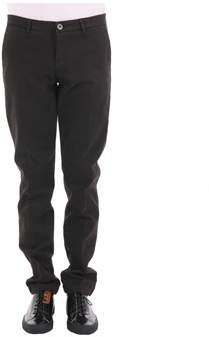 Trussardi Men's Brown Cotton Pants.