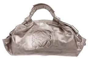 Loewe Metallic Leather Hobo