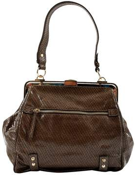 Max Mara Brown Leather Handbag