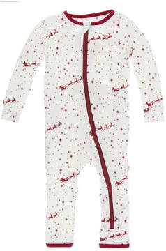 Kickee Pants Flying Santa Coverall