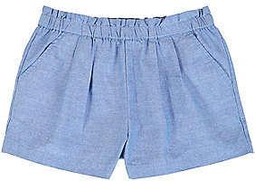 Nautica Little Girls' Pull-On Chambray Short (2T-7)