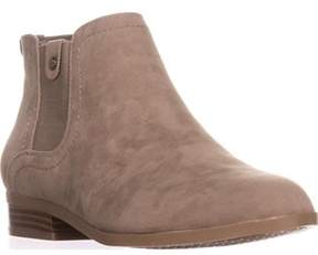 Giani Bernini Gb35 Falica Flat Ankle Boots, Cement.