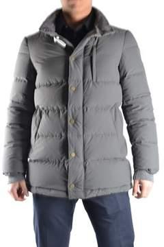 Geospirit Men's Grey Polyamide Down Jacket.