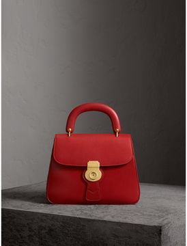 Burberry The Medium DK88 Top Handle Bag - CORAL RED - STYLE