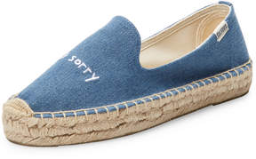 Soludos Women's Sorry Embroidered Platform Espadrille