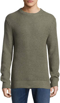 Life After Denim Men's Wilton Ribbed Cotton Sweater