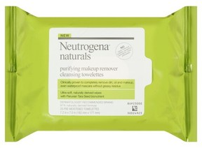 Neutrogena® Naturals Purifying Makeup Remover Cleansing Towelettes - 25 Sheets
