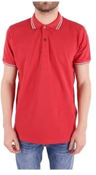 Peuterey Men's Red Cotton Polo Shirt.