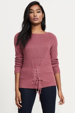 Dynamite Knit Corset Sweater