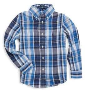 Ralph Lauren Toddler's, Little Boy's& Boy's Plaid Shirt