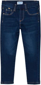 Mayoral Blue Stretch Waistband Skinny Jeans