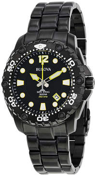 Bulova UHF Sea King Black Dial Men's Sports Watch