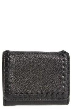 Rebecca Minkoff Women's Mini Vanity Leather Wallet - Black - BLACK - STYLE