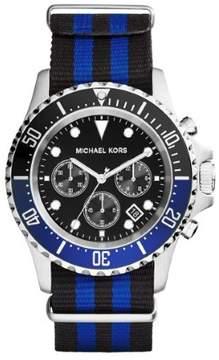 Michael Kors Everest MK8398 Blue And Black Analog Quartz Men's Watch