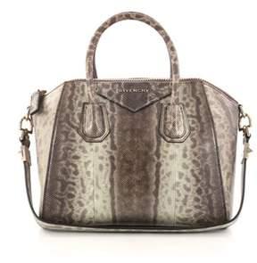 Givenchy Pre-owned: Antigona Bag Snakeskin Small.