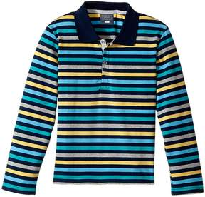 Toobydoo The Oscar Long Sleeve Polo Shirt (Toddler/Little Kids/Big Kids)
