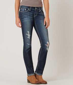 BKE Stella Straight Stretch Cuffed Jean