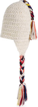 Gucci Wool hat with multicolor tassels