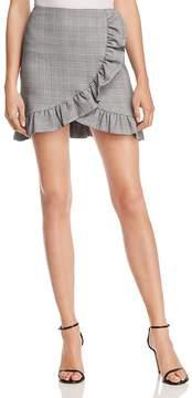 Aqua Ruffled Plaid Skirt - 100% Exclusive