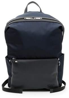 Fendi Men's Blue Polyamide Backpack.