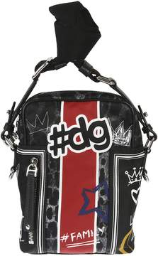 Dolce & Gabbana Printed Graffiti Shoulder Bag