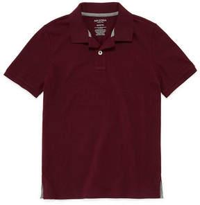Arizona Short Sleeve Knit Polo Shirt Boys