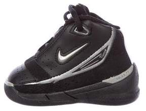 Nike Boys' Leather High-Top Sneakers