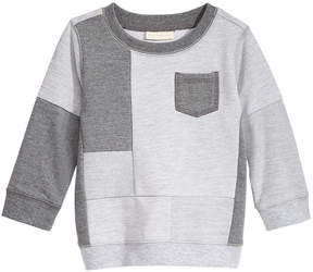 First Impressions Pieced Sweatshirt, Baby Boys, Created for Macy's
