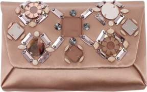 LANVIN Embroidered Blush Pink Mai Thai Evening Clutch