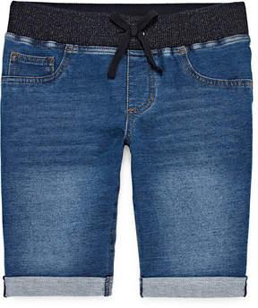 Arizona Knit Bermuda Shorts - Girls7-16 and Plus