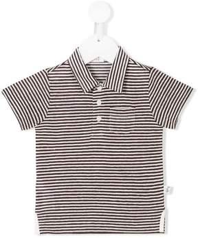 Il Gufo striped polo shirt