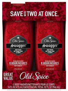 Old Spice Red Zone Swagger Body Wash Twin Pack - 32oz