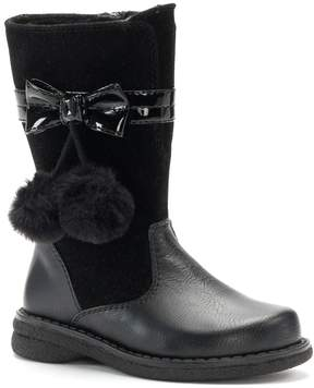 Rachel Marjorie Toddler Girls' Pom-Pom Boots