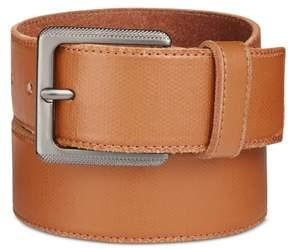 Calvin Klein Mens Canvas Belt Brown 34