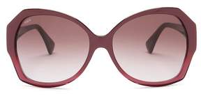 Tod's 58mm Butterfly Sunglasses