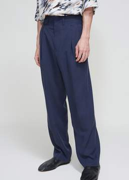 Lemaire Two Pleated Tencel Twill Pant