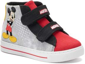 Disney Disney's Mickey Mouse Toddler Boy's High Top Sneakers