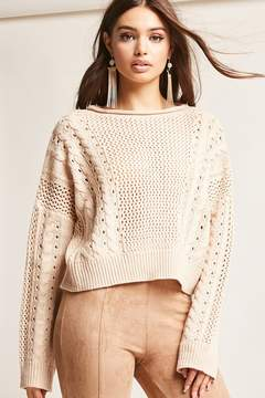 Forever 21 Cable-Knit Sweater