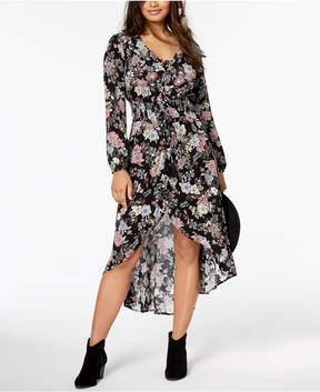 American Rag Juniors' Printed High-Low Maxi Dress, Created for Macy's