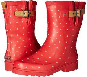 Chooka Classic Dot Mid Rain Boot