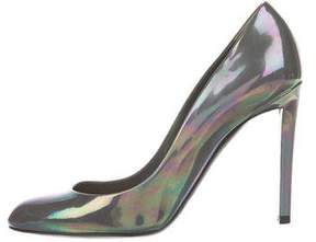 Christian Dior Patent Leather Iridescent Pumps