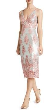 Dress the Population Angela Sequin & Lace Dress