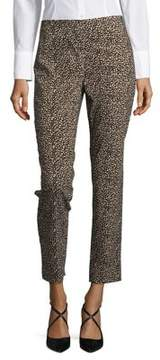 Context Patterned Mid-Rise Pants