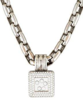 Chopard Happy Diamonds Square Pendant Necklace