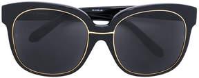 Linda Farrow frame sunglasses