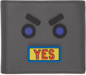 Fendi Grey Yes Wallet