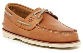Sperry Leeward 2-Eye Leather Boat Shoe - Wide Width Available