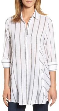 Foxcroft Women's Stripe Tunic Shirt